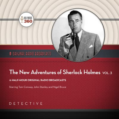 The New Adventures of Sherlock Holmes, Vol. 3 by Black Eye Entertainment audiobook