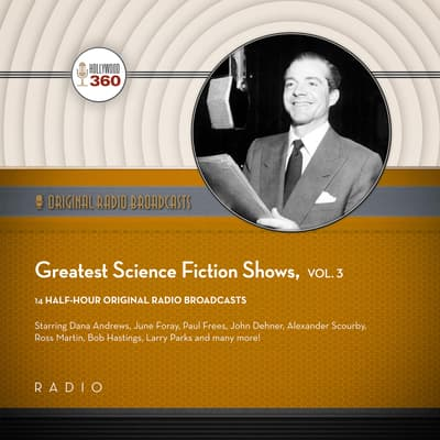 Greatest Science Fiction Shows, Vol. 3 by Black Eye Entertainment audiobook