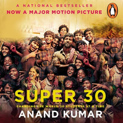 Super 30 by Anand Kumar audiobook