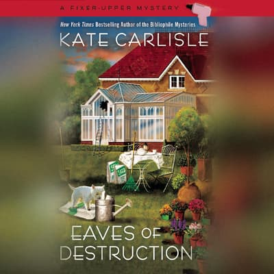 Eaves of Destruction by Kate Carlisle audiobook