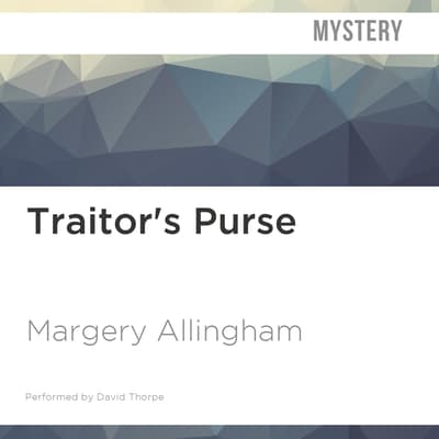Traitor's Purse by Margery Allingham audiobook
