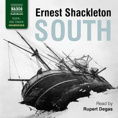 South by Ernest Shackleton audiobook