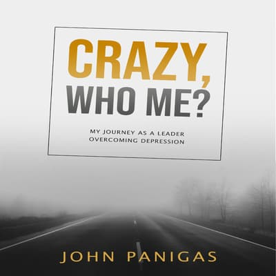 Crazy, Who Me? My Journey as a Leader Overcoming Depression by John Panigas audiobook