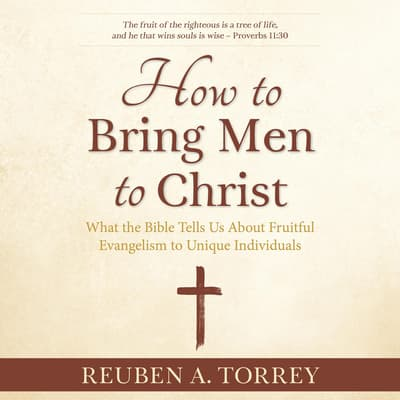 How to Bring Men to Christ by Reuben A. Torrey audiobook