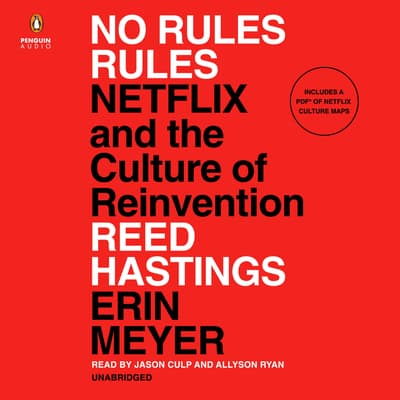 No Rules Rules by Erin Meyer audiobook
