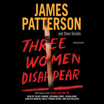 Three Women Disappear by James Patterson audiobook