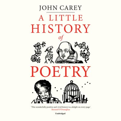 A Little History of Poetry by John Carey audiobook