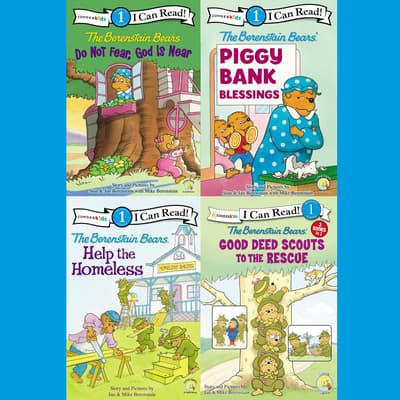 The Berenstain Bears I Can Read Collection 1 by Jan Berenstain audiobook