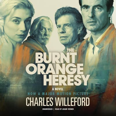 The Burnt Orange Heresy by Charles Willeford audiobook