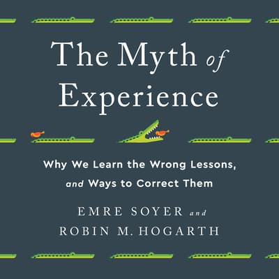 The Myth of Experience by Robin M Hogarth audiobook