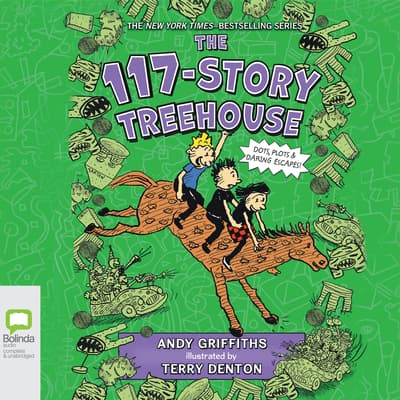 The 117-Story Treehouse by Andy Griffiths audiobook