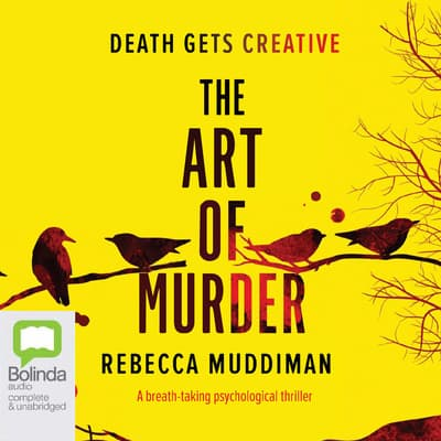 The Art of Murder by Rebecca Muddiman audiobook