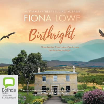 Birthright by Fiona Lowe audiobook