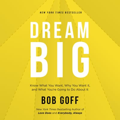 Dream Big by Bob Goff audiobook