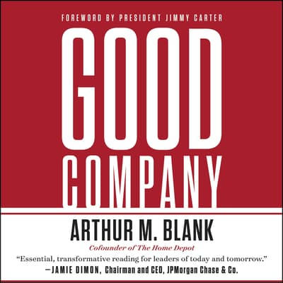 Good Company by Arthur M. Blank audiobook