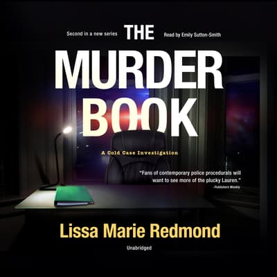 The Murder Book by Lissa Marie Redmond audiobook