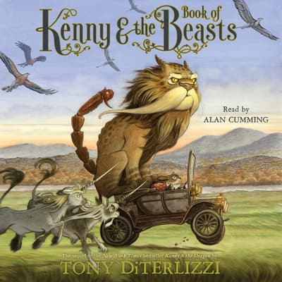 Kenny & the Book of Beasts by Tony DiTerlizzi audiobook