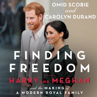 Finding Freedom by Omid Scobie audiobook