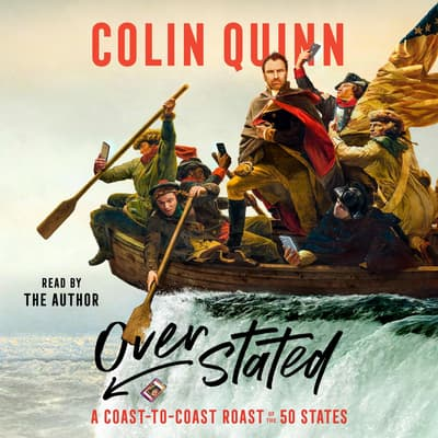 Overstated by Colin Quinn audiobook