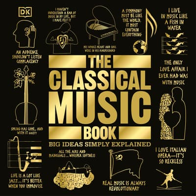 The Classical Music Book by DK  Books audiobook