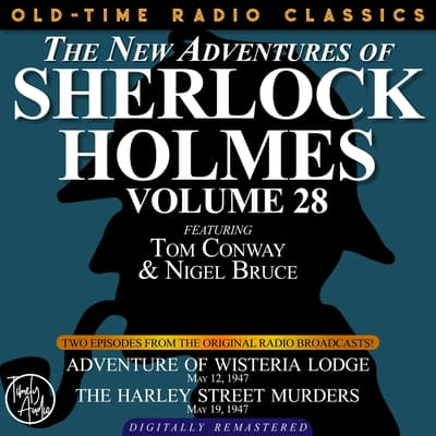 Adventures of Wisteria Lodge and The Harley Street Lodge by Arthur Conan Doyle audiobook