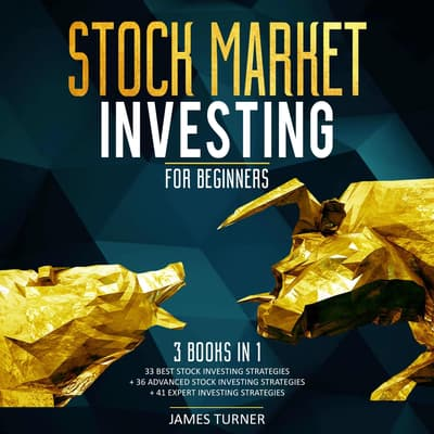 Stock Market Investing for Beginners: 3 Books in 1 33 Best Stock Investing Strategies + 36 Advanced Stock Investing Strategies + 41 Expert Investing Expert Strategies by James Turner audiobook