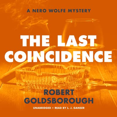 The Last Coincidence by Robert Goldsborough audiobook