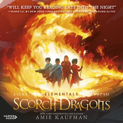 Scorch Dragons (Elementals, #2) by Amie Kaufman audiobook