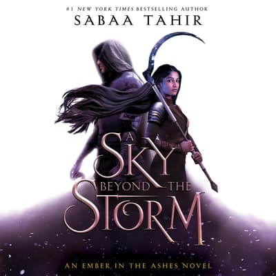 A Sky Beyond the Storm by Sabaa Tahir audiobook