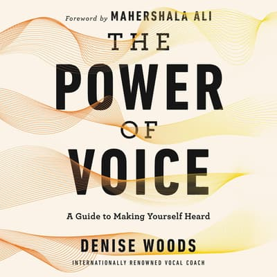 The Power of Voice by Denise Woods audiobook