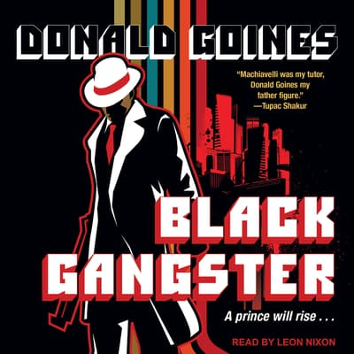 Black Gangster by Donald Goines audiobook