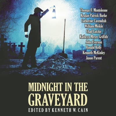 Midnight in the Graveyard       by Thomas F. Monteleone audiobook
