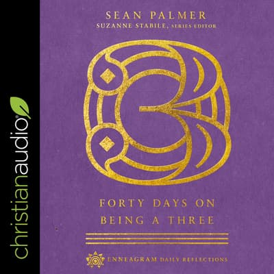 Forty Days on Being a Three by Sean Palmer audiobook