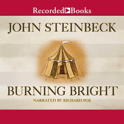 Burning Bright by John Steinbeck audiobook