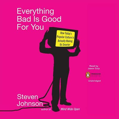 Everything Bad Is Good For You by Steven Johnson audiobook