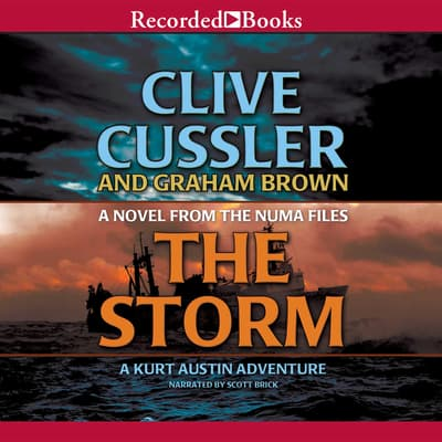 The Storm by Clive Cussler audiobook