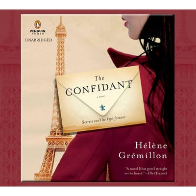 The Confidant by Hélène Grémillon audiobook