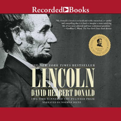 Lincoln by David Herbert Donald audiobook