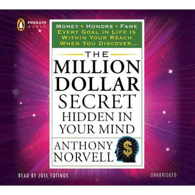 The Million Dollar Secret Hidden in Your Mind by Anthony Norvell audiobook