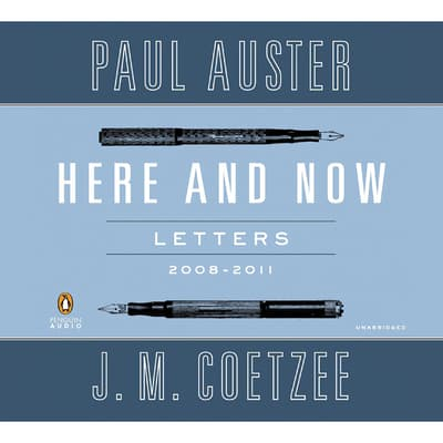 Here and Now by Paul Auster audiobook