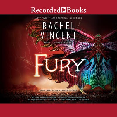 Fury by Rachel Vincent audiobook