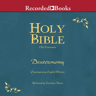 Holy Bible Deuteronomy Volume 5 by Various  audiobook