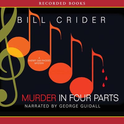 Murder in Four Parts by Bill Crider audiobook