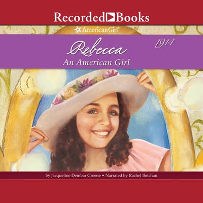 Rebecca by Jacqueline Dembar Greene audiobook