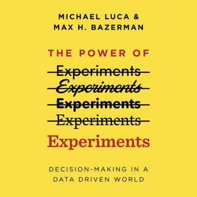 The Power of Experiments by Michael Luca audiobook