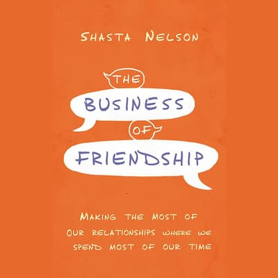 The Business of Friendship by Shasta Nelson audiobook