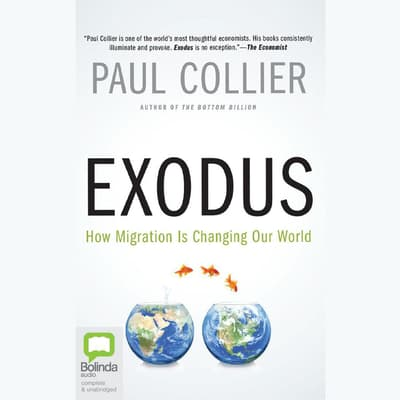 Exodus by Paul Collier audiobook