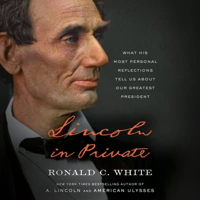 Lincoln in Private by Ronald C. White audiobook