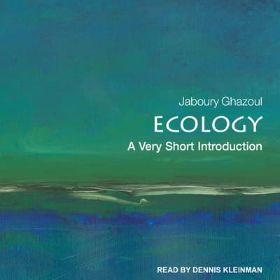 Ecology by Jaboury Ghazoul audiobook