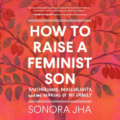How to Raise a Feminist Son by Sonora Jha audiobook